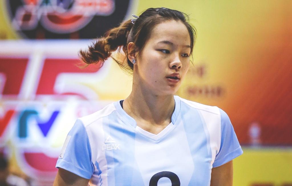 Nhung chan dai xinh dep khoe sac o VTV Cup 2018 hinh anh 7