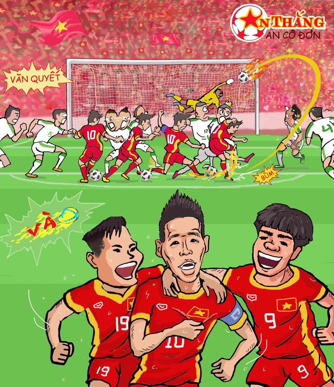 Hi hoa Park Hang-seo cheo con thuyen Olympic Viet Nam ra bien lon hinh anh 3