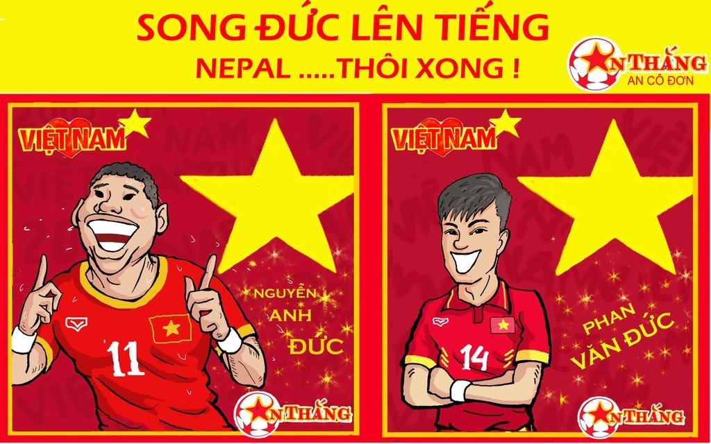 Hi hoa Park Hang-seo cheo con thuyen Olympic Viet Nam ra bien lon hinh anh 4