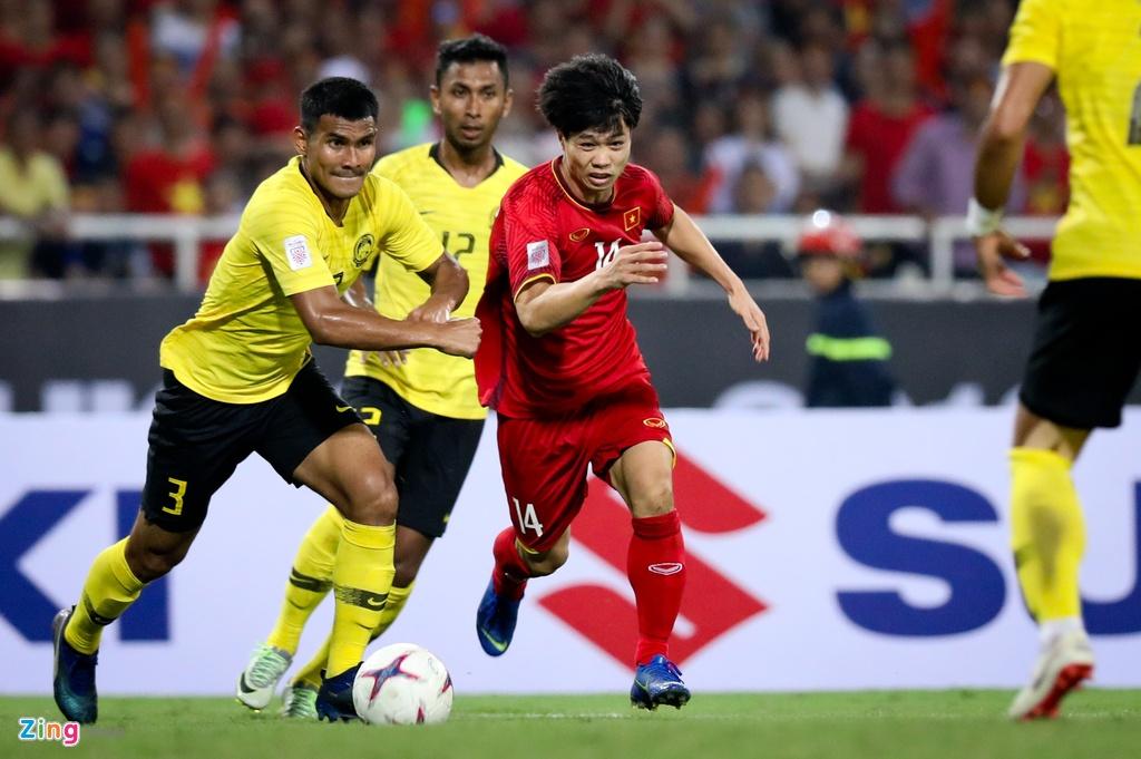 Viet Nam dau Malaysia anh 1