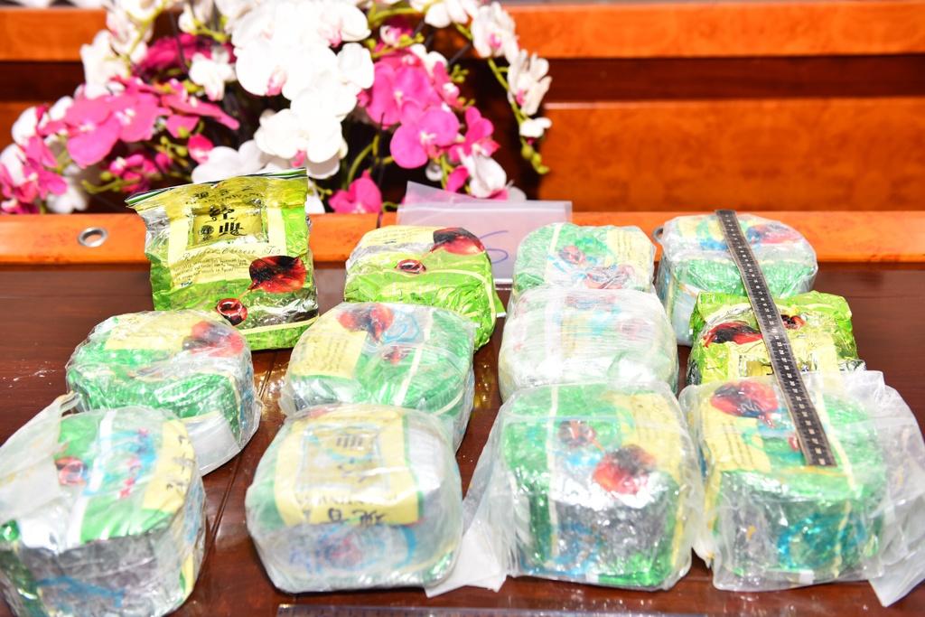 Đây cũng là lần đầu tiên lực lượng chống ma túy phát hiện thủ đoạn giấu ma túy trong các khối đá, sau đó xếp vào container để khử trùng rồi vận chuyển bằng đường biển xuyên quốc gia.