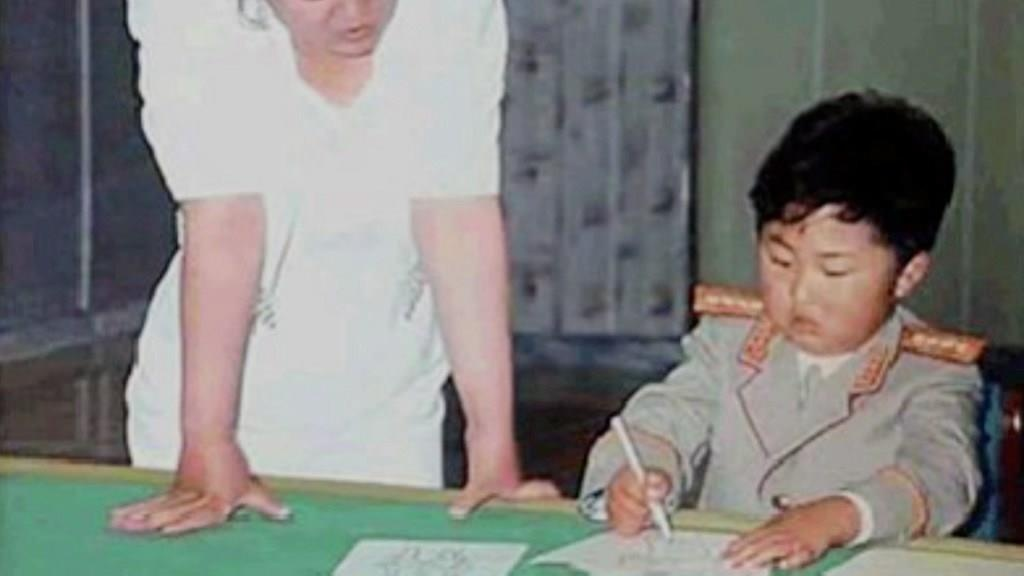 Kim Jong Un o chau Au anh 1