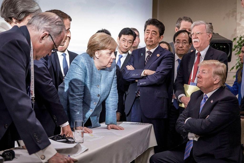 Tong thong Trump nhu 'nui lua', G7 se gan ket hay chia re? hinh anh 1