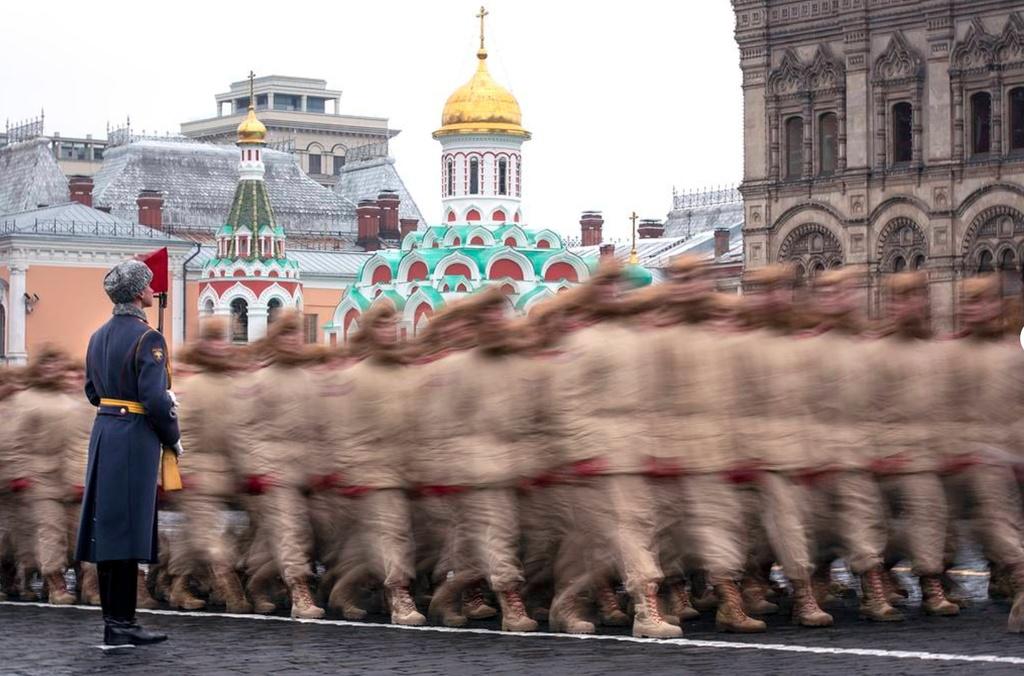 Khí tài, binh sĩ Nga chuẩn bị tái hiện cuộc duyệt binh năm 1941