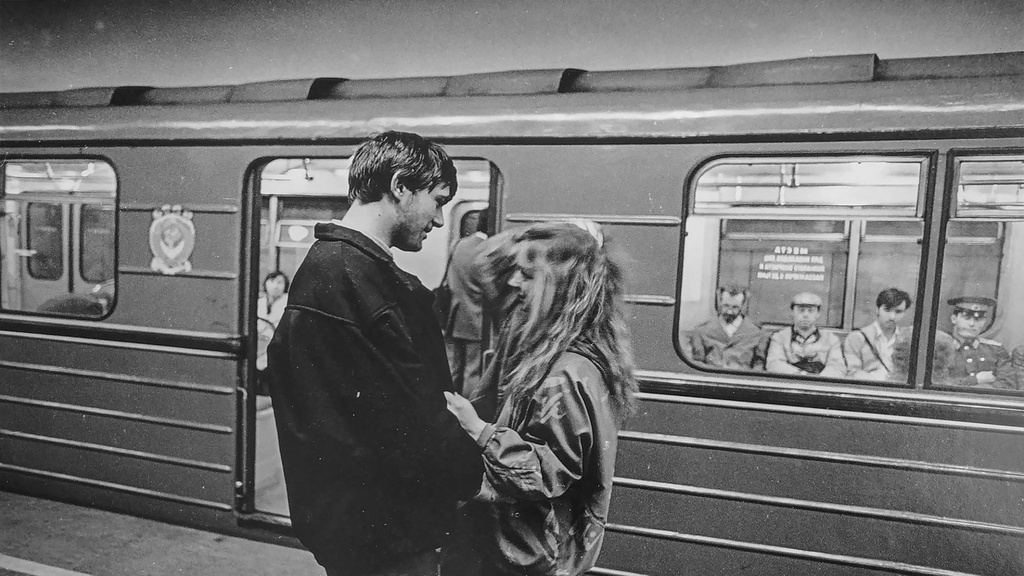 Biển báo bất tử ở tàu điện ngầm Moscow