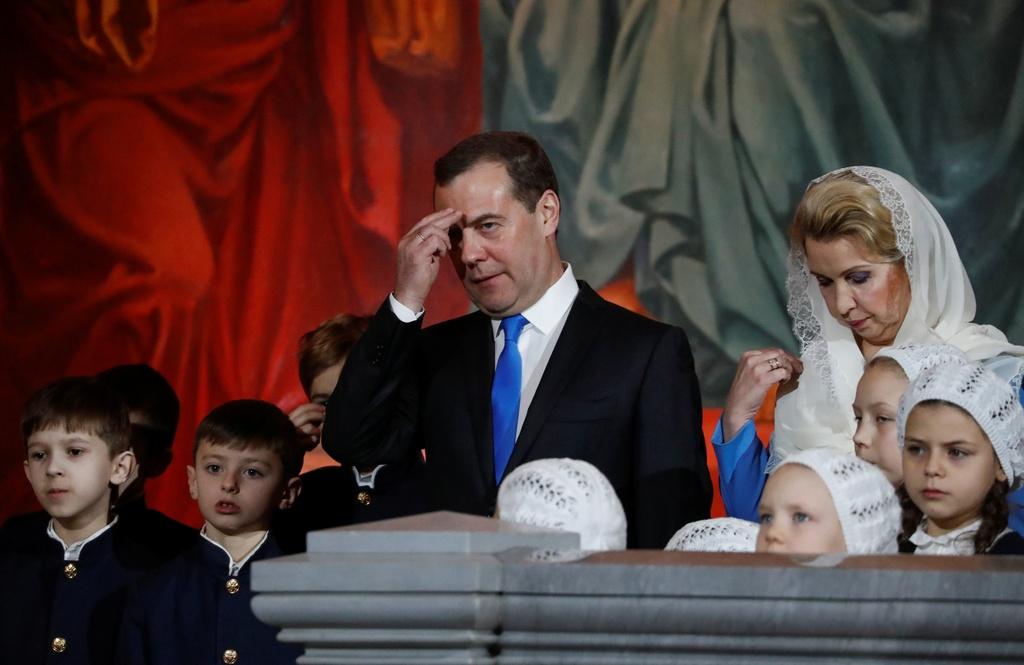 Tong thong Putin va tin do Chinh Thong giao don Giang sinh o Nga hinh anh 9 2020_01_06T211558Z_416889062_RC2LAE9AQWYG_RTRMADP_3_CHRISTMAS_SEASON_RUSSIA.JPG