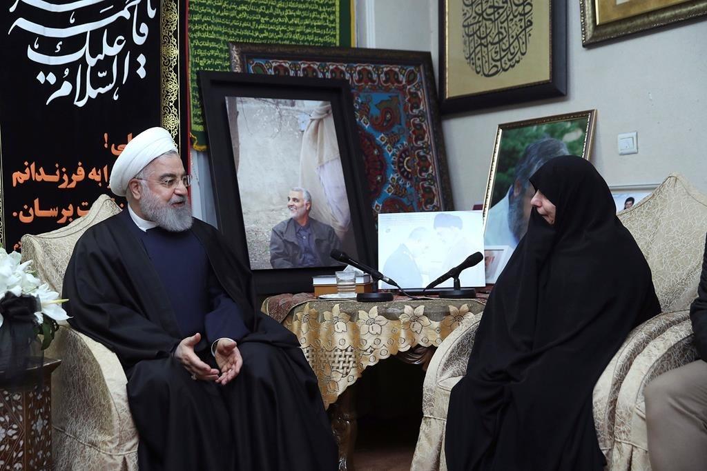 Iran ban roi may bay Ukraine anh 1