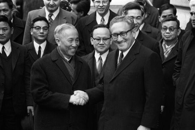 Dong gop cua ngoai giao Viet Nam vao chien thang lich su nam 1975 hinh anh 2 Zing_VN_Hiep_dinh_Paris_1.jpg