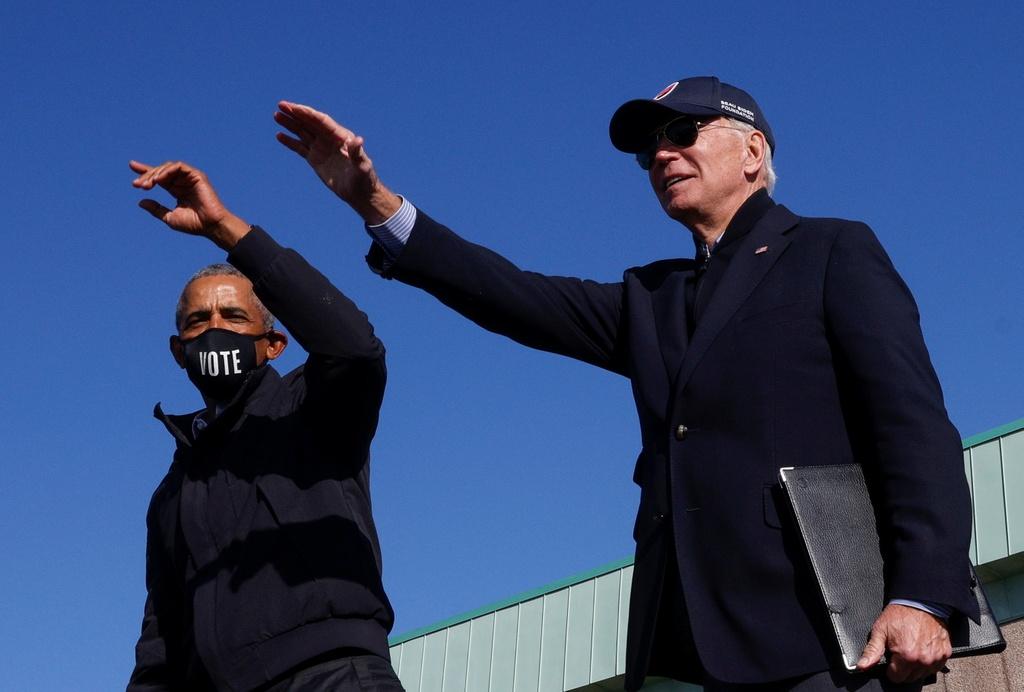 Ong Obama van dong cung ong Biden anh 3