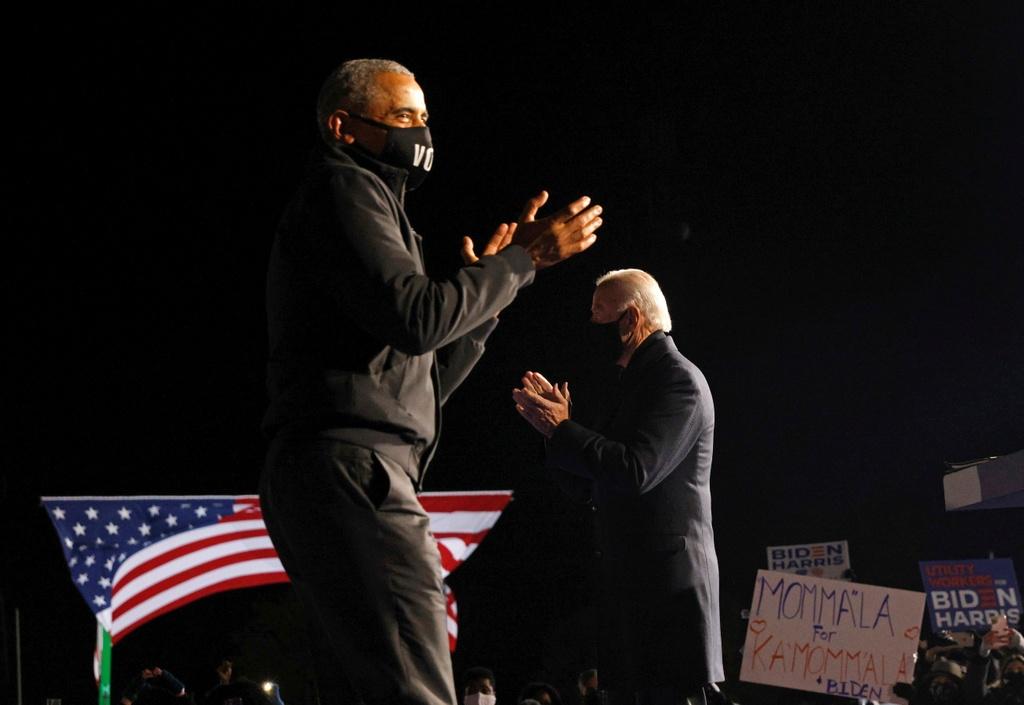 Ong Obama van dong cung ong Biden anh 7