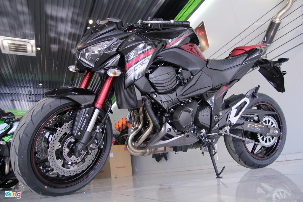Kawasaki Z800 2016 mau do den dau tien ve VN, gia 275 trieu hinh anh 1