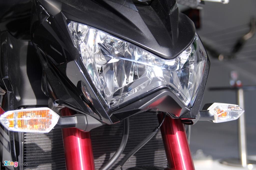 Kawasaki Z800 2016 mau do den dau tien ve VN, gia 275 trieu hinh anh 9