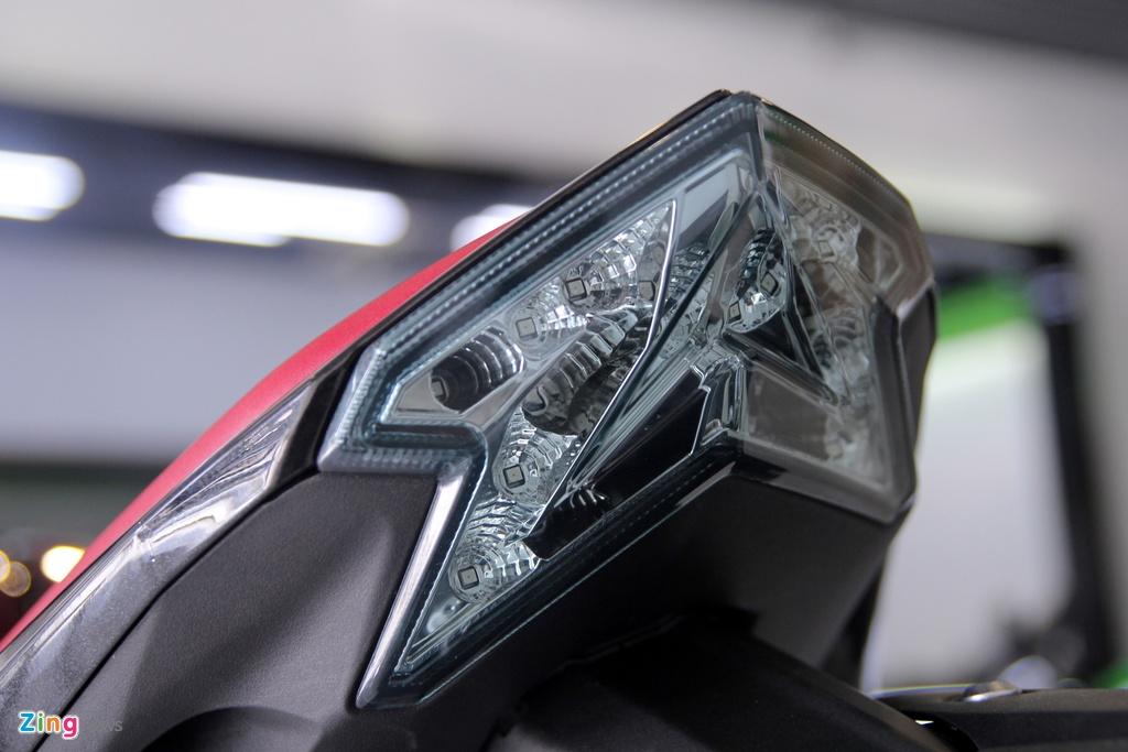 Kawasaki Z800 2016 mau do den dau tien ve VN, gia 275 trieu hinh anh 10
