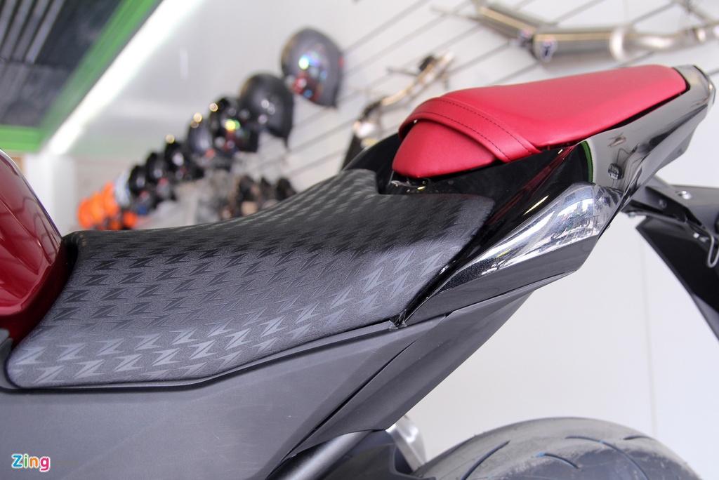 Kawasaki Z800 2016 mau do den dau tien ve VN, gia 275 trieu hinh anh 11