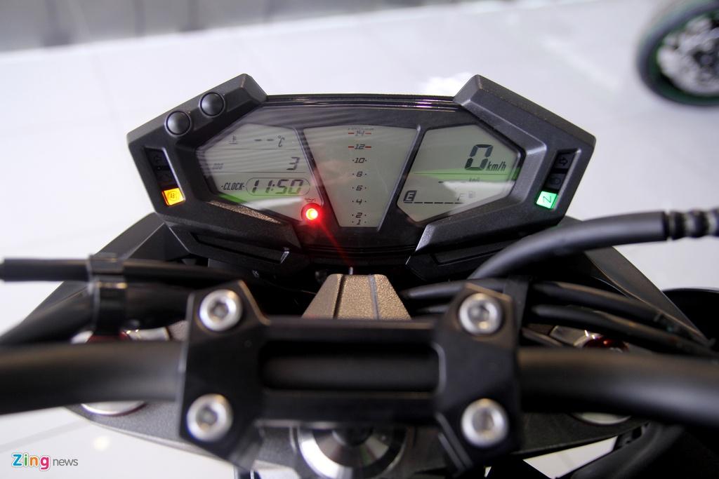 Kawasaki Z800 2016 mau do den dau tien ve VN, gia 275 trieu hinh anh 7