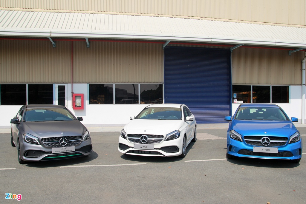Mercedes A-Class - xe the thao cho nguoi tre tai Viet Nam hinh anh 1