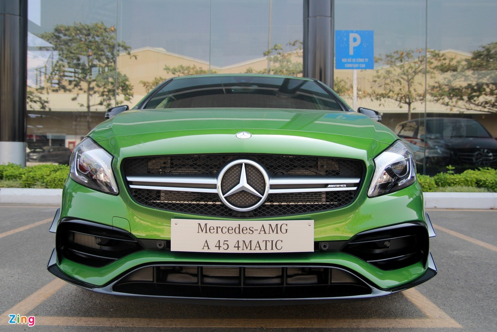 Mercedes A-Class - xe the thao cho nguoi tre tai Viet Nam hinh anh 3