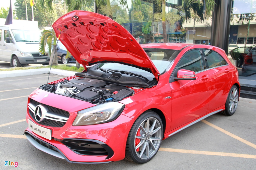 Mercedes A-Class - xe the thao cho nguoi tre tai Viet Nam hinh anh 5