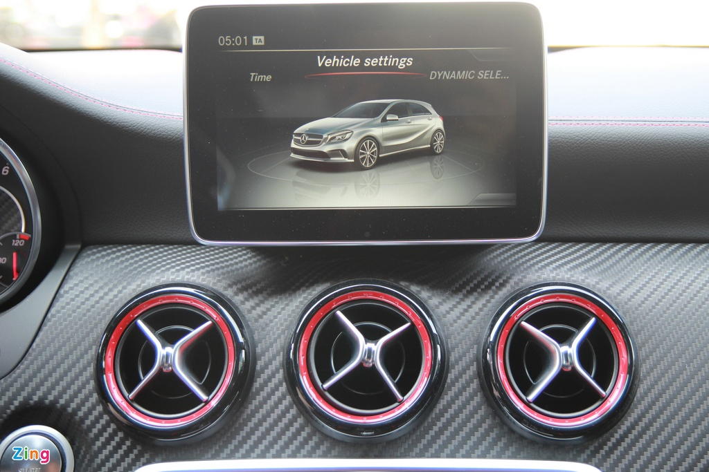Mercedes A-Class - xe the thao cho nguoi tre tai Viet Nam hinh anh 10