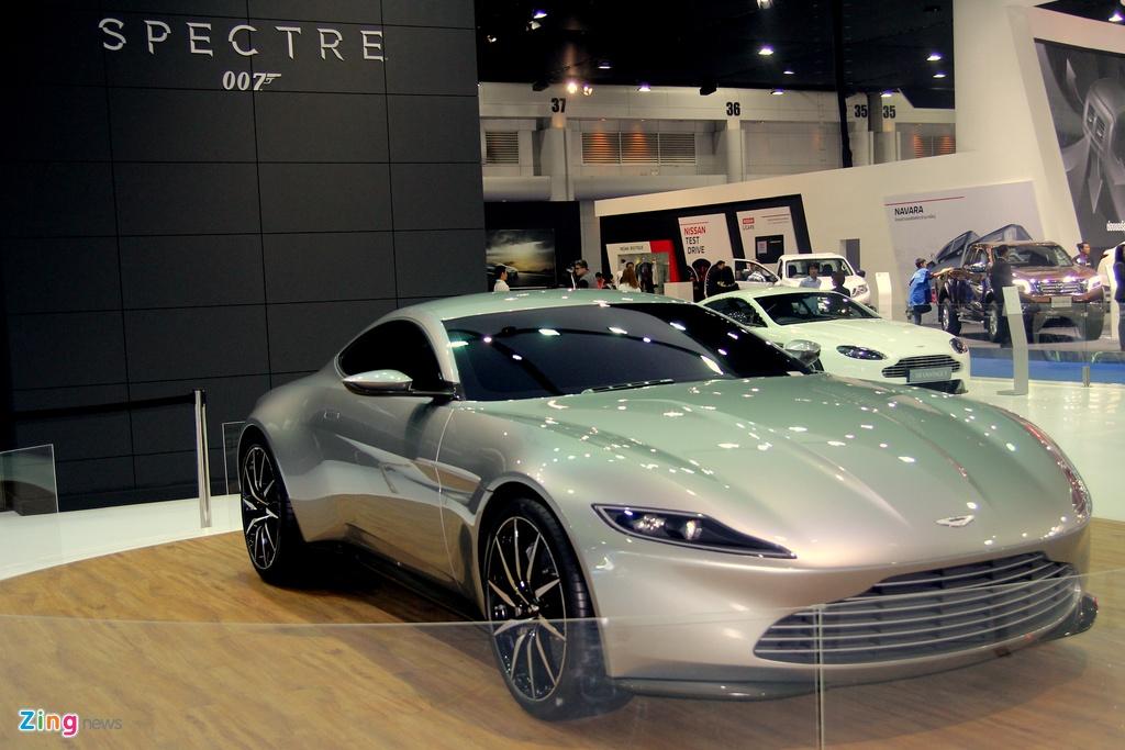 Sieu xe cua James Bond xuat hien tai Bangkok Motor Show hinh anh 1