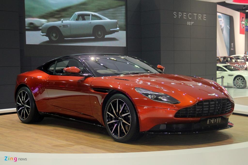 Sieu xe cua James Bond xuat hien tai Bangkok Motor Show hinh anh 2