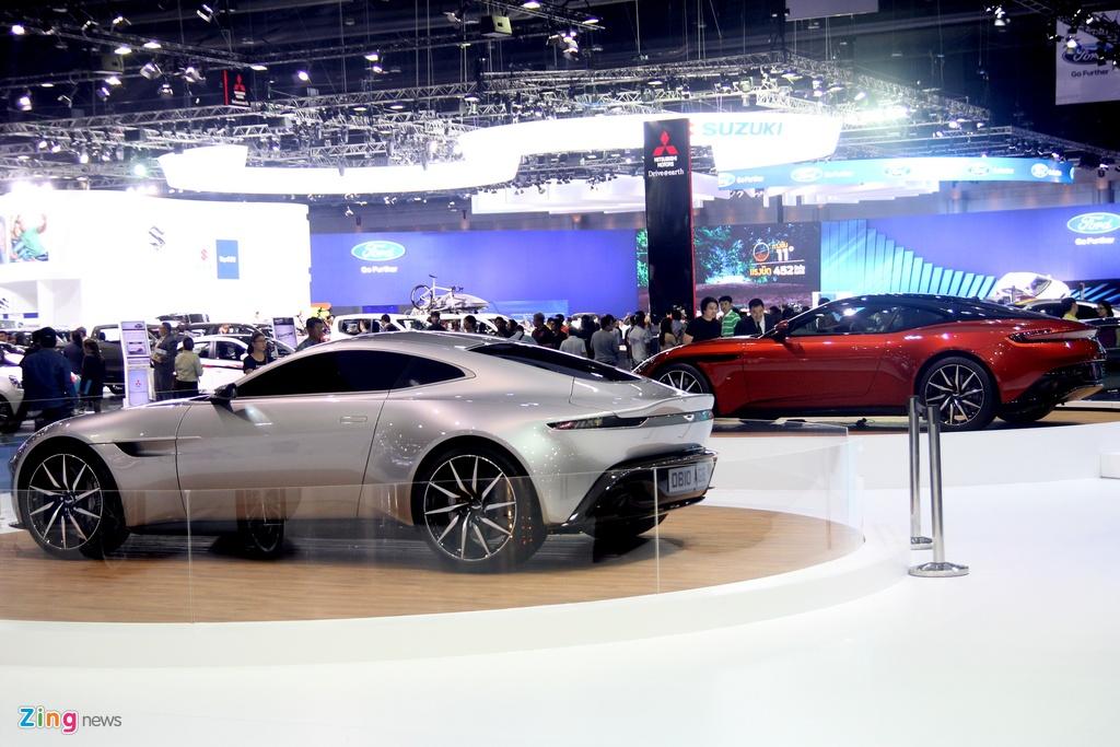 Sieu xe cua James Bond xuat hien tai Bangkok Motor Show hinh anh 4