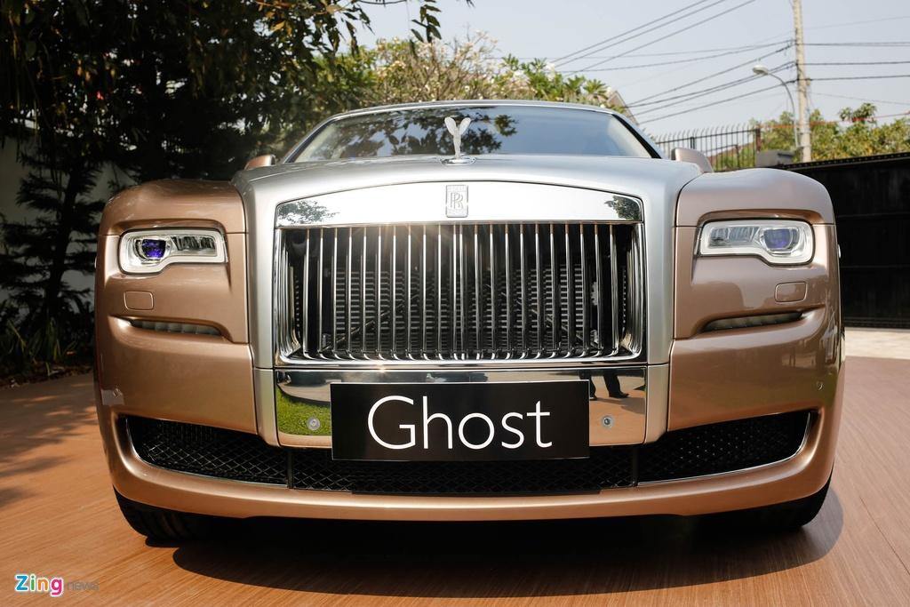 Rolls-Royce Ghost ban bespoke tren 24 ty ra mat tai Viet Nam hinh anh 3