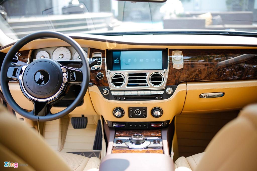 Rolls-Royce Ghost ban bespoke tren 24 ty ra mat tai Viet Nam hinh anh 7