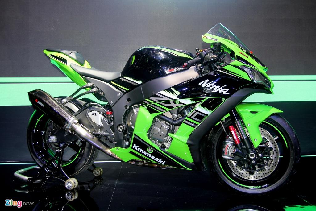 Sieu moto Kawasaki ZX-10R 2016 gia 549 trieu tai Viet Nam hinh anh 1