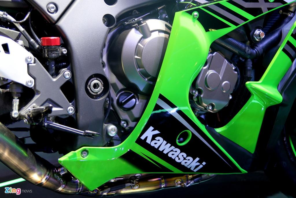 Sieu moto Kawasaki ZX-10R 2016 gia 549 trieu tai Viet Nam hinh anh 3