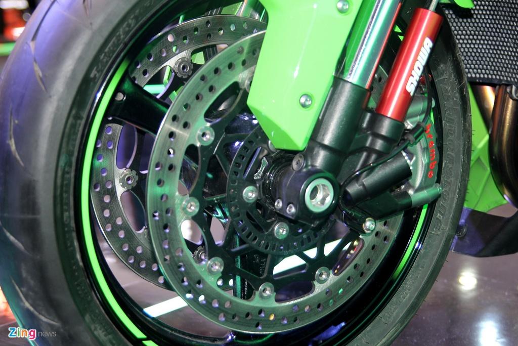 Sieu moto Kawasaki ZX-10R 2016 gia 549 trieu tai Viet Nam hinh anh 6