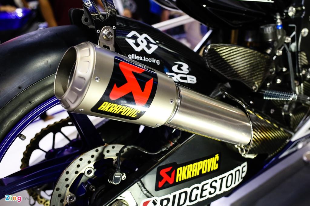Yamaha M1 tai Viet Nam - xe vo dich MotoGP 2015 hinh anh 4