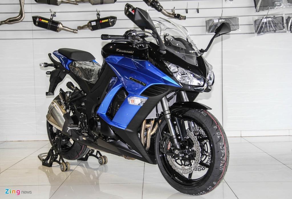 Kawasaki Z1000SX - phien ban duong truong cua Z1000 ve VN hinh anh 1