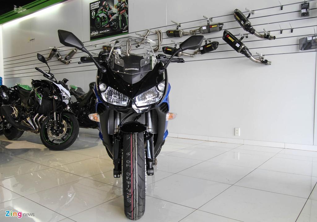 Kawasaki Z1000SX - phien ban duong truong cua Z1000 ve VN hinh anh 2
