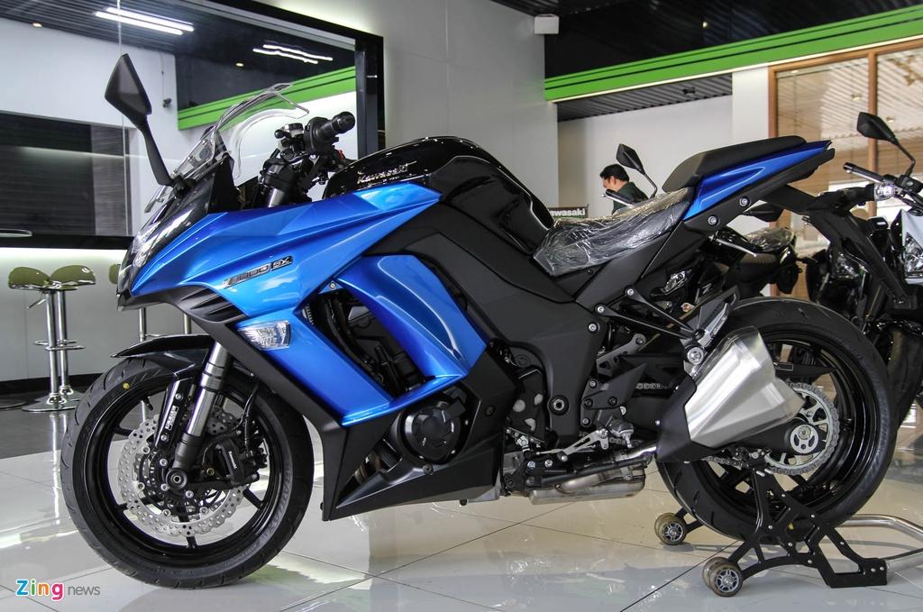 Kawasaki Z1000SX - phien ban duong truong cua Z1000 ve VN hinh anh 3
