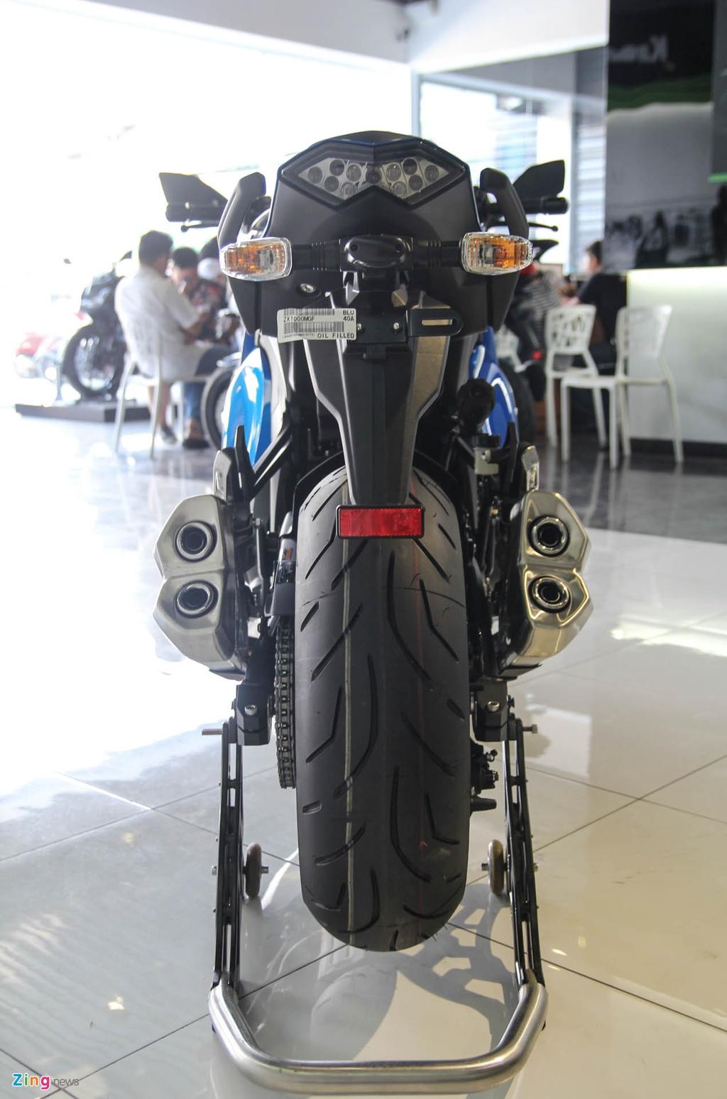 Kawasaki Z1000SX - phien ban duong truong cua Z1000 ve VN hinh anh 4