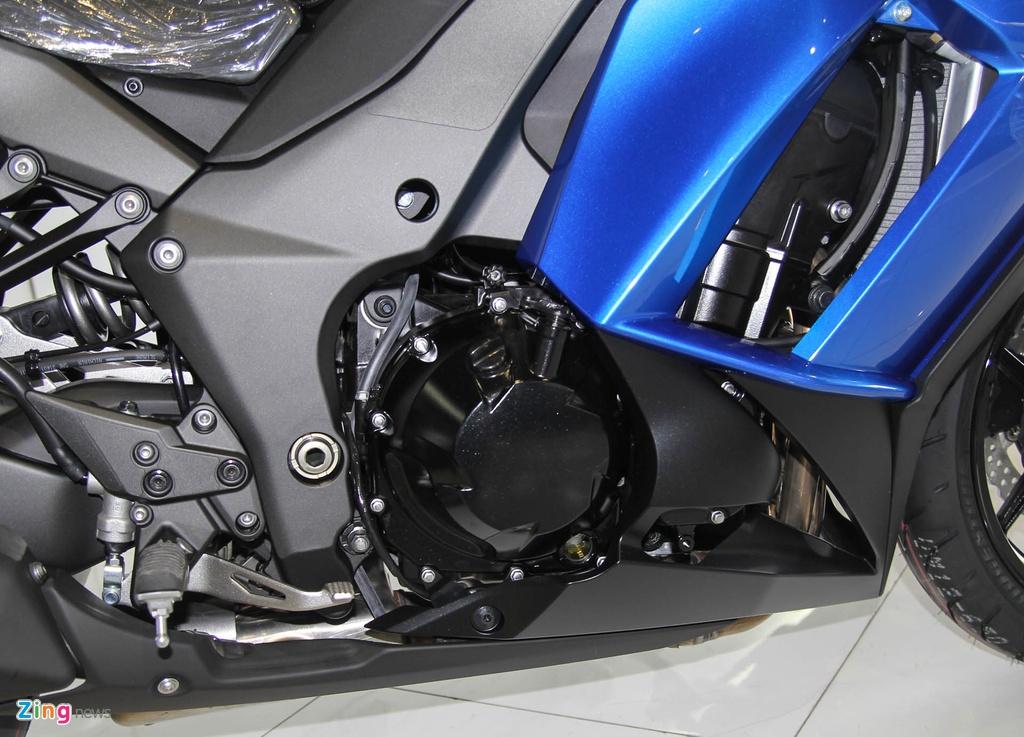 Kawasaki Z1000SX - phien ban duong truong cua Z1000 ve VN hinh anh 5