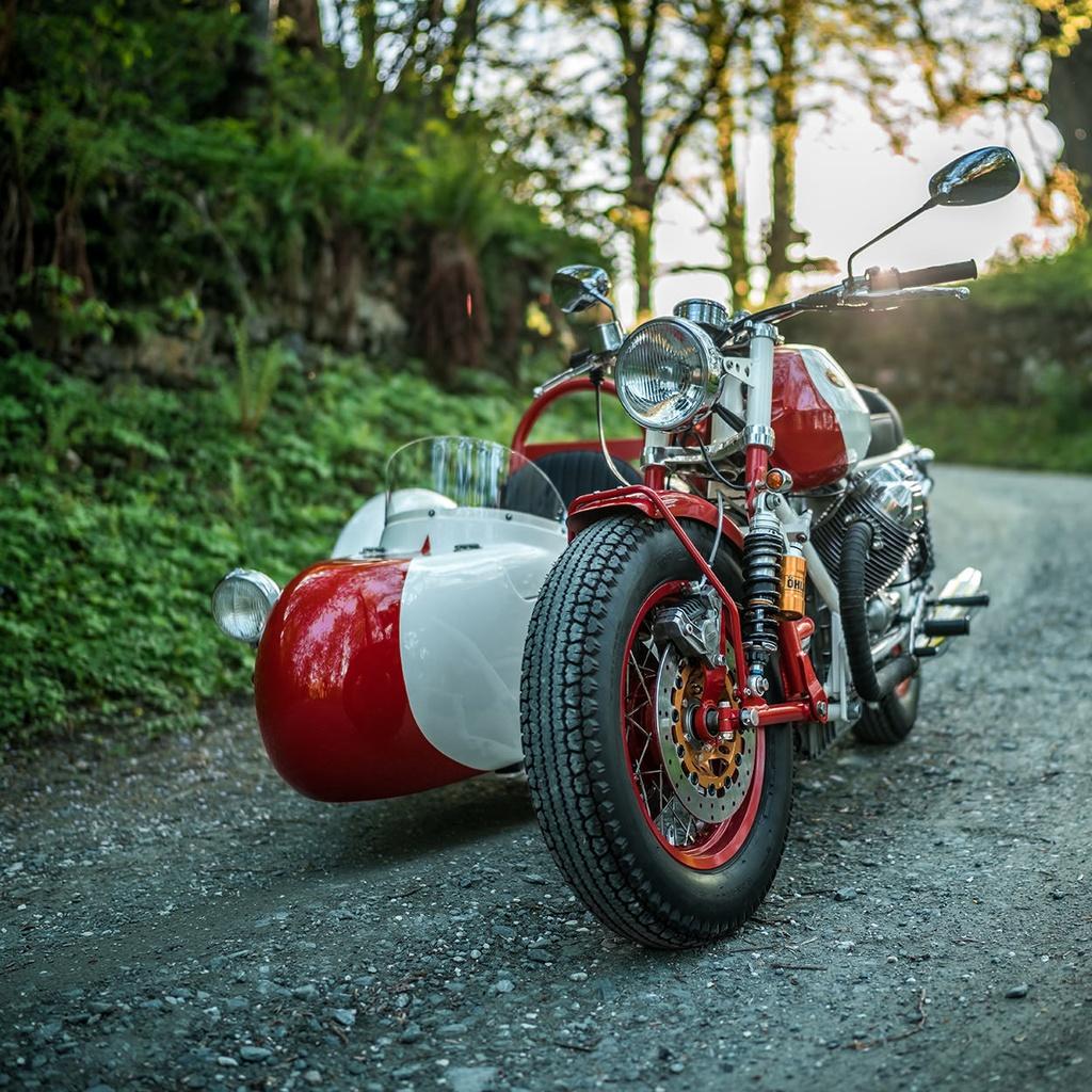 Do Moto Guzzi 40 nam tuoi thanh sidecar hinh anh 2