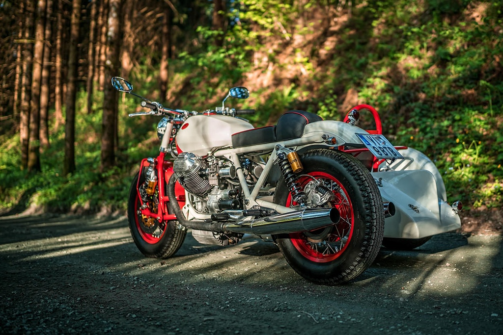Do Moto Guzzi 40 nam tuoi thanh sidecar hinh anh 8