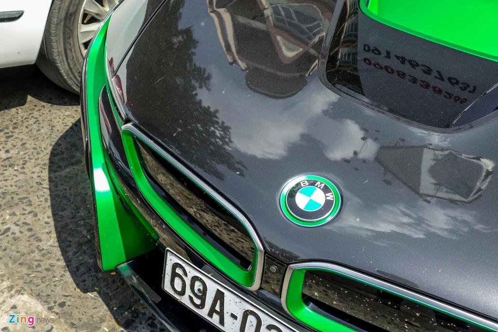 BMW i8 phoi mau la mat anh 6