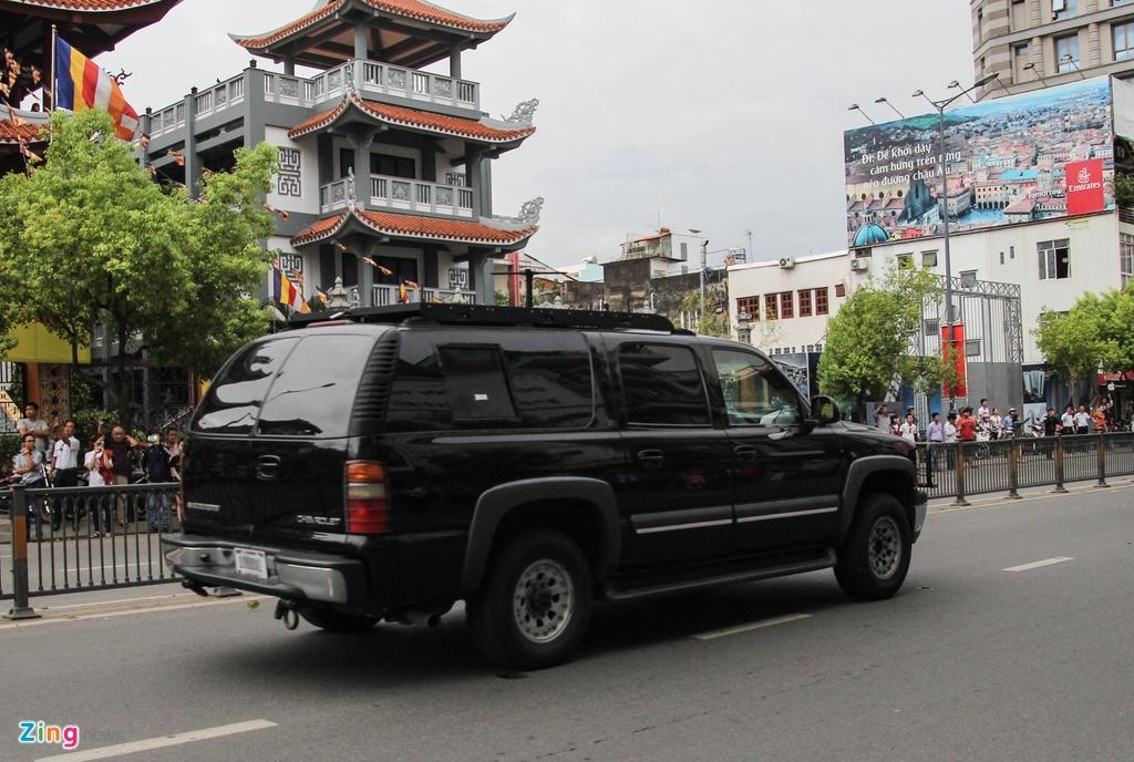 Chi tiet doan xe ho tong Tong thong Obama o Sai Gon hinh anh 10