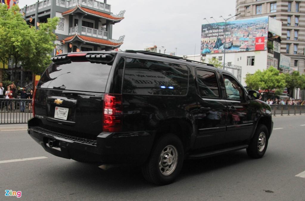 Chi tiet doan xe ho tong Tong thong Obama o Sai Gon hinh anh 4