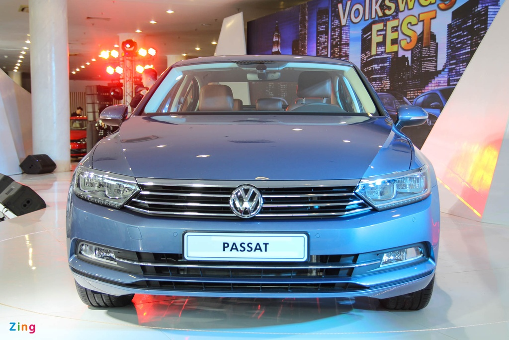 Chi tiet Volkswagen Passat 2016 gia tu 1,45 ty tai Viet Nam hinh anh 2