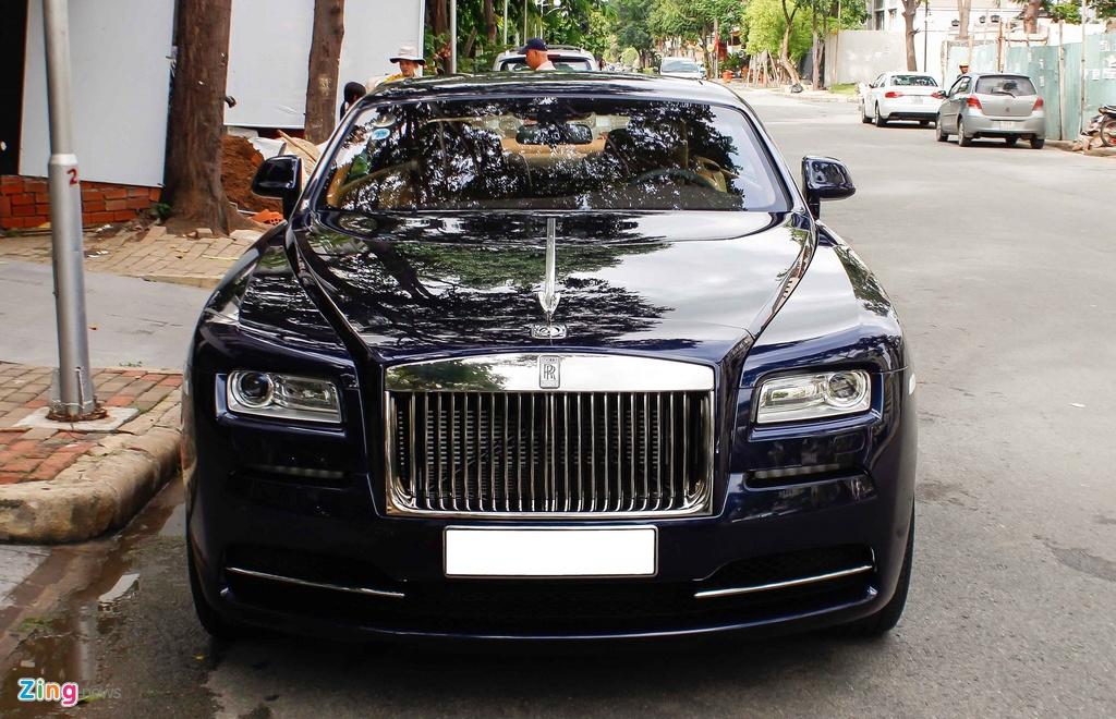 Rolls-Royce Wraith cua Cuong Do La anh 1