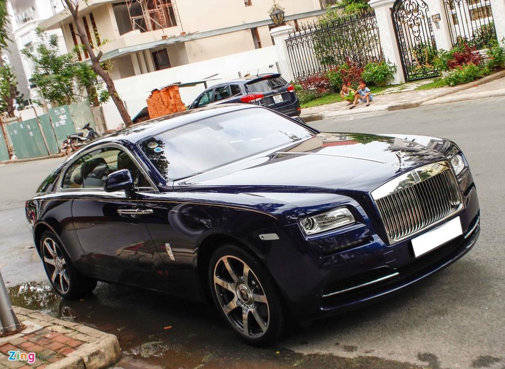 Rolls-Royce Wraith cua Cuong Do La anh 3