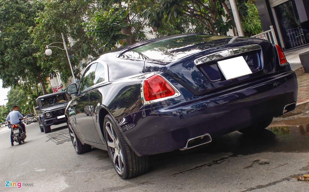 Rolls-Royce Wraith cua Cuong Do La anh 4
