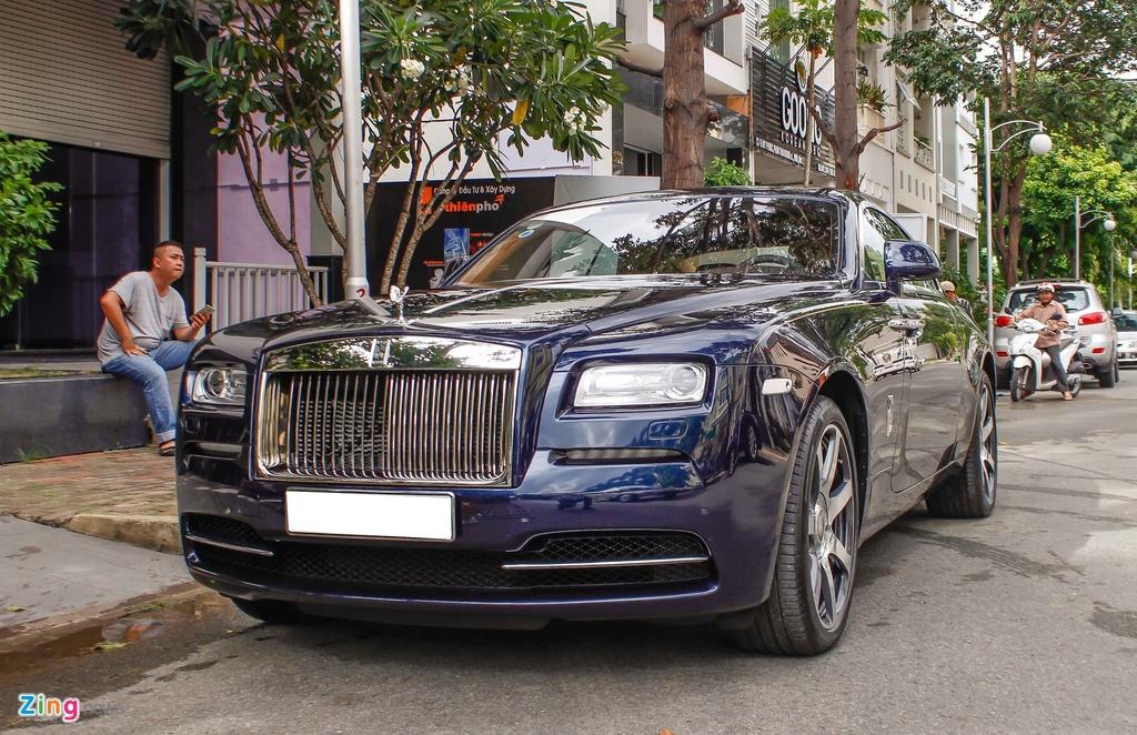Rolls-Royce Wraith cua Cuong Do La anh 8