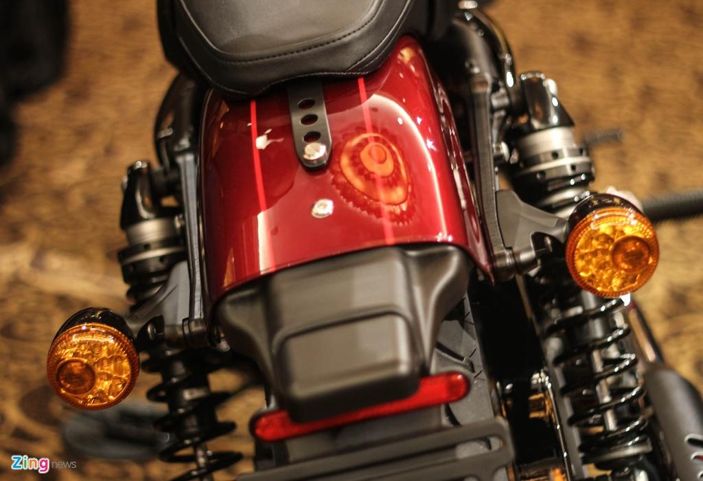 Harley Davidson Roadster 1.200 phan khoi ra mat tai Viet Nam hinh anh 6