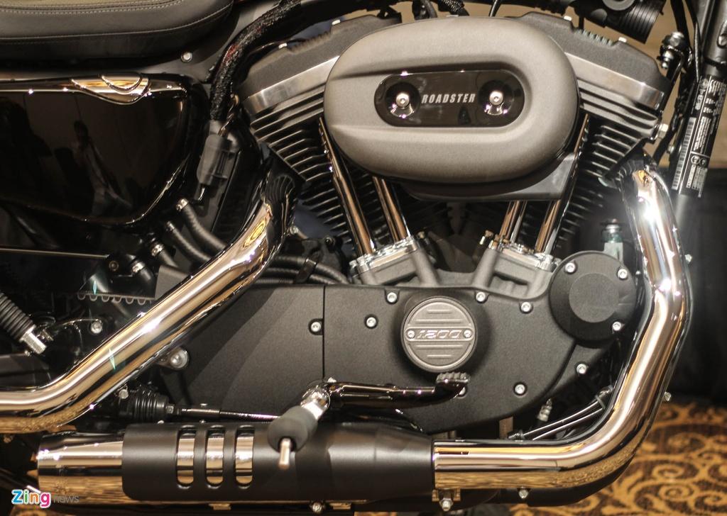 Harley Davidson Roadster 1.200 phan khoi ra mat tai Viet Nam hinh anh 7