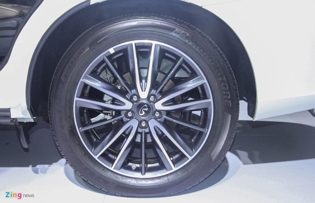 Chi tiet Infiniti QX60 - doi thu Audi Q7 tai Viet Nam hinh anh 16
